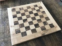 Oak Walnut chess board