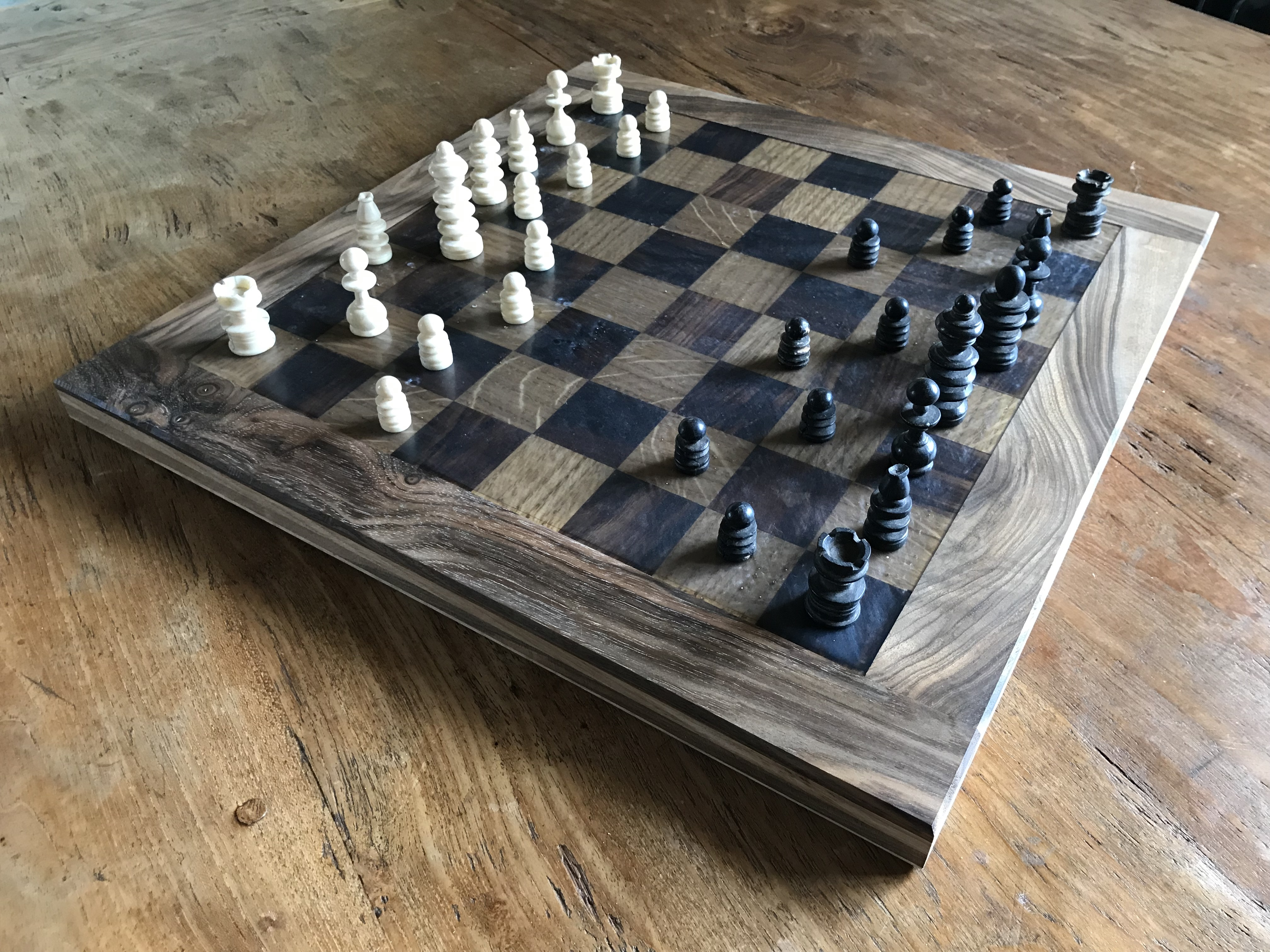 Epoxy Resin Chess board