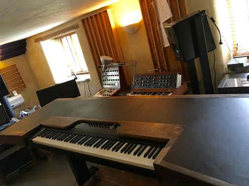 Composer writing desk