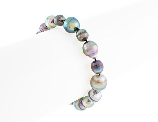 Baroque Multicolor Tahitian Pearl Bracelet
