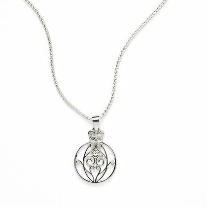 Southern Gates Sterling Silver Biltmore Radiance Necklace