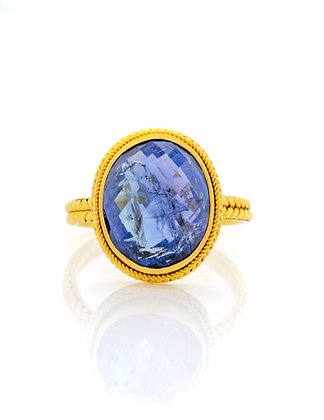 22K Yellow Gold Tanzanite Ring