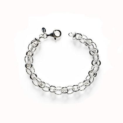 Southern Gates Sterling Silver Bird Cage Bracelet