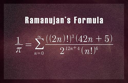 Ramanujan's Formula