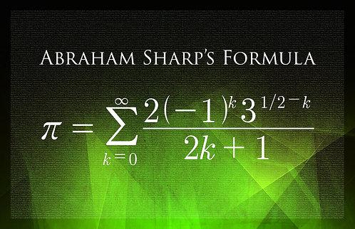 Abraham Sharp's Formula