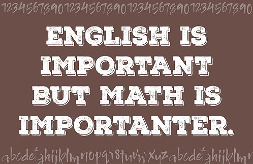 Math is importanter