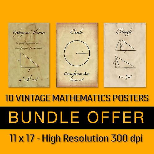 10 Vintage Posters