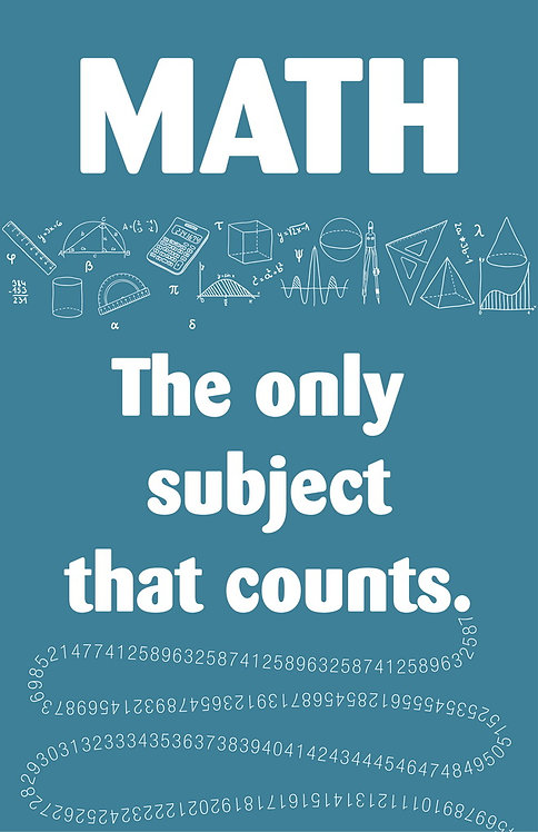 Math only subject that counts