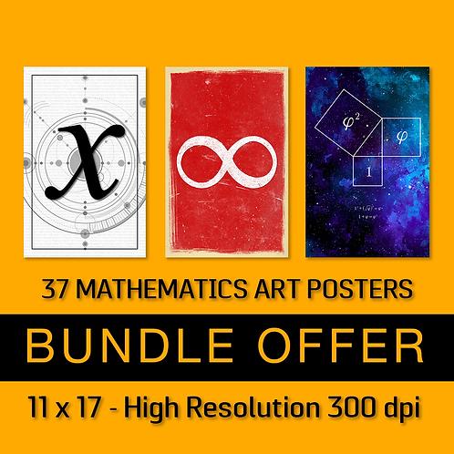 37 Math Art Posters