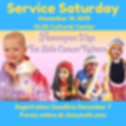 MSM Service Saturday Magic Yarn Project.