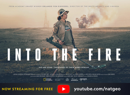 'Into The Fire' documentary release