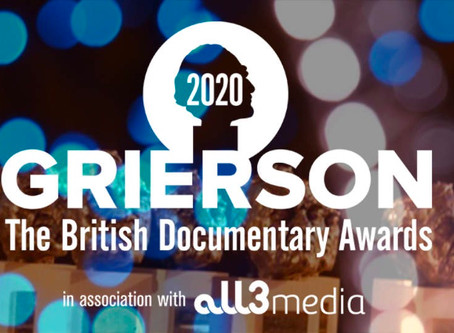 Grierson Awards 2020 nomination for 'Lost and Found'