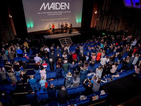 'Maiden' UK Premiere