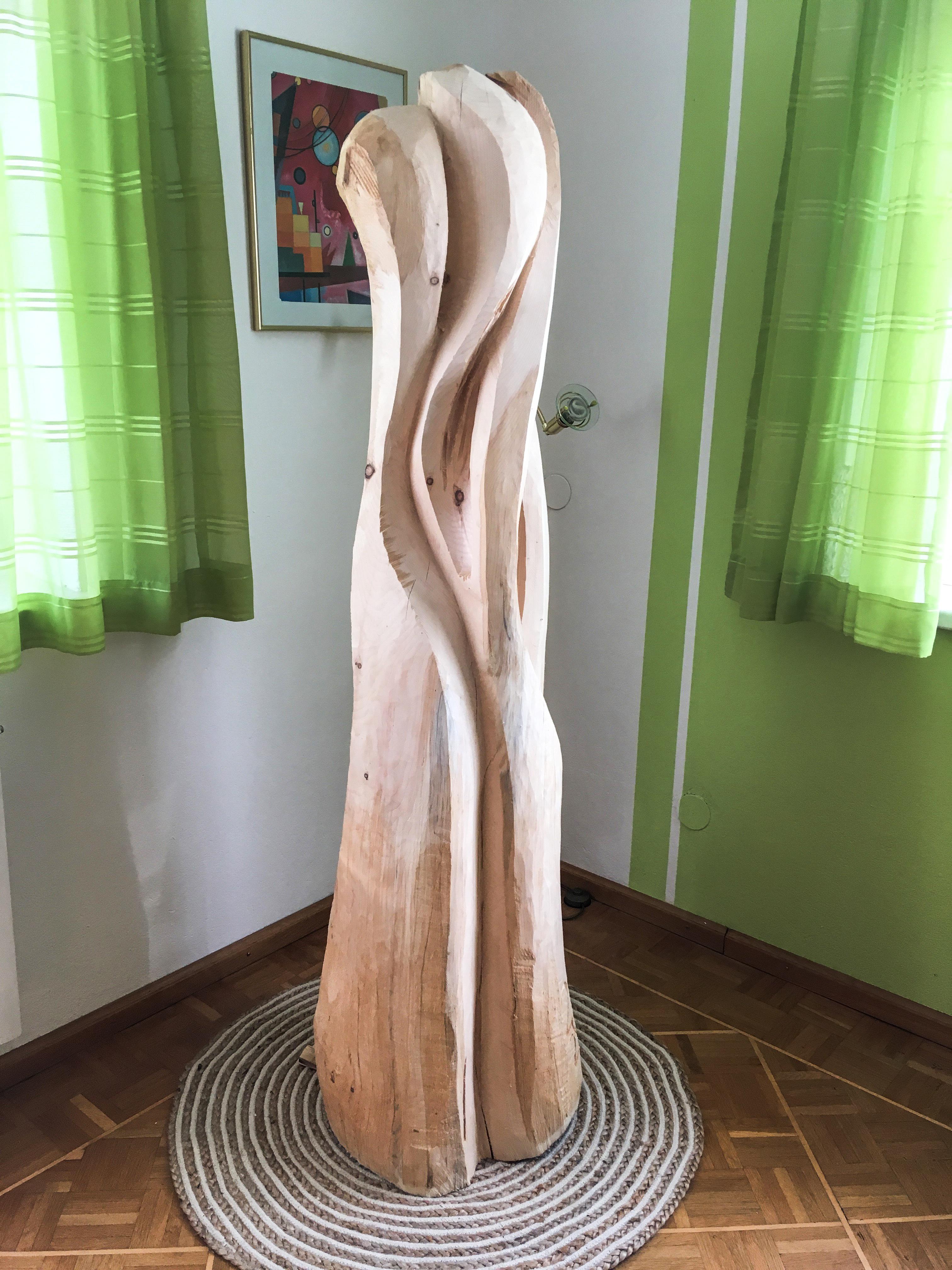 Skulptur Zirbe