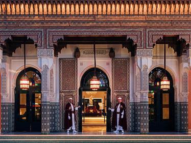 La Mamounia - legendaarne ikoonhotell Marrakechi südames.