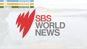 SBS world News -  We Are Hughes First televised interview