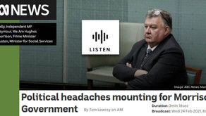 ABC radio interview with We Are Hughes on Craig Kelly moving to cross bench
