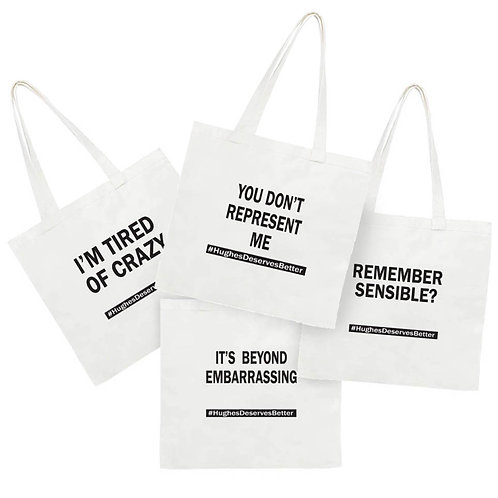 Classic tote -Say it loud