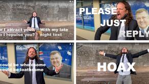 "Local band ""Plus Side"" parodies Craig Kelly"