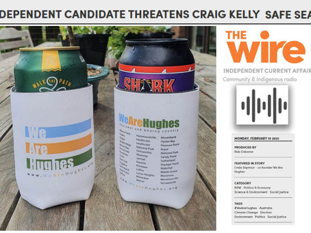 Audio The Wire: INDEPENDENT CANDIDATE THREATENS SAFE SEAT