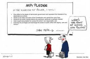 The Politicians' Pledge
