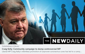 Community Campaign to oust controversial MP