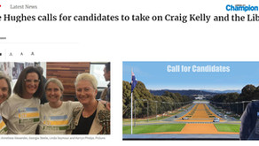 Local papers report on our call for candidates.