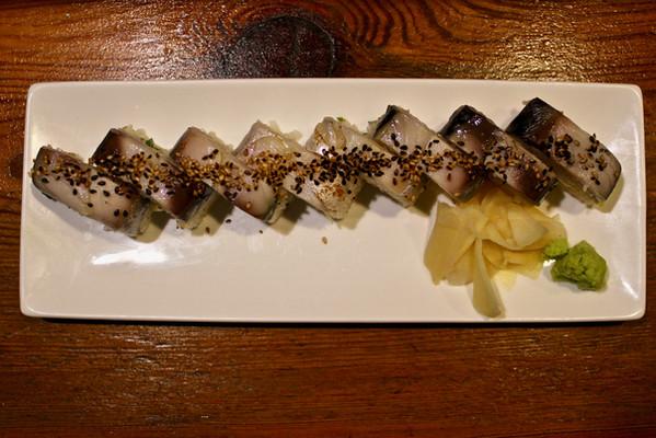 Sea Eel Pressed Sushi