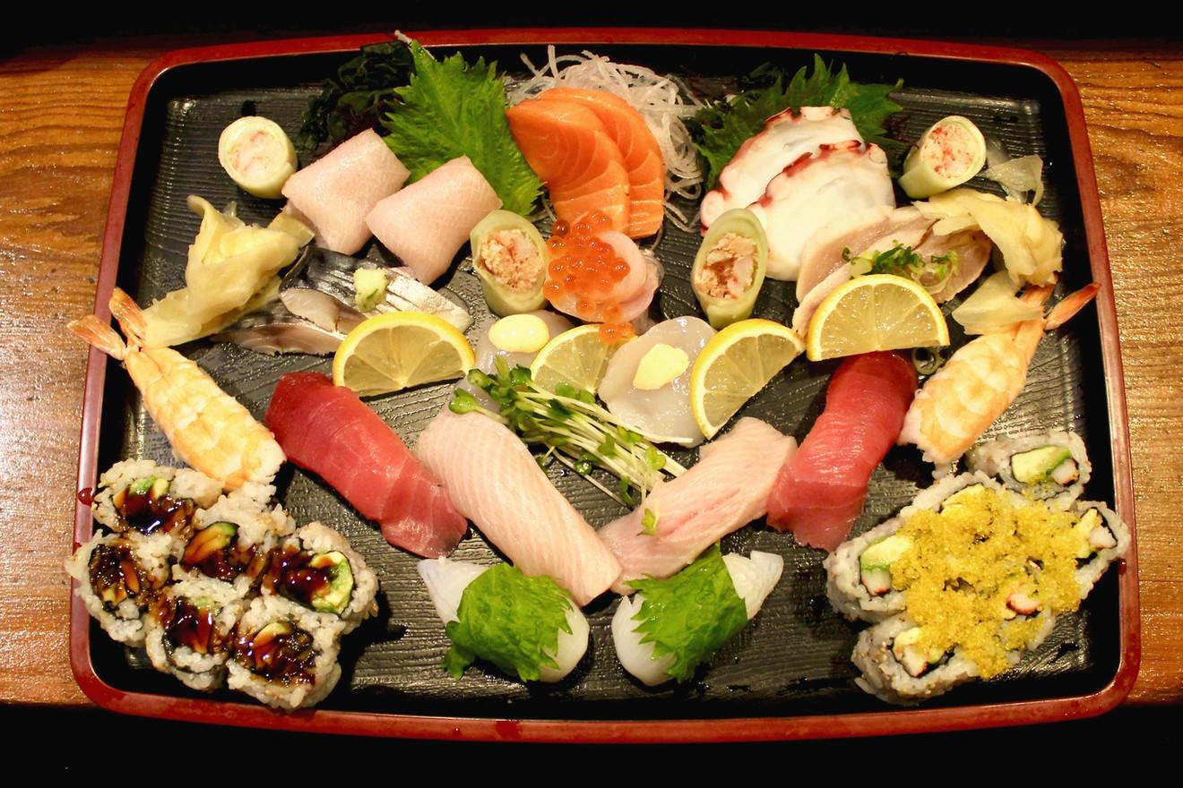 Sushi & Sashimi for Two