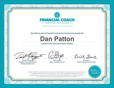 Financial Coach Dan
