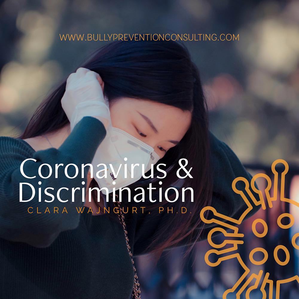 coronavirus, discrimnation, covid19, corona, hysteria, workplace, workplacehazard, safety, stress, workplace safety, osha, accountability, mentalhealth, workplace bullying, coronavirus, wajngurt,