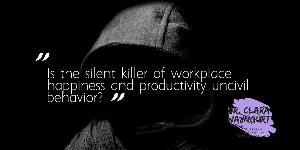 incivility, workplace bullying, disrespect, bullying