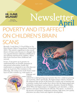 Poverty and it's Affect on Children's Brain Scans