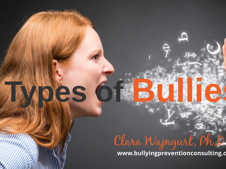Exploring the Nature of Bullying: Different Types of Bullies