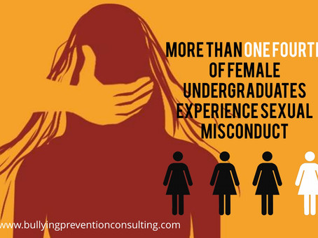 More Than One Fourth of Female Undergraduates Experience Sexual Misconduct