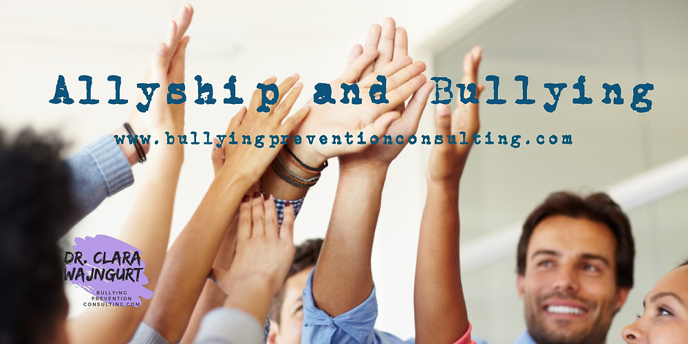 bullying, allyship, workplace bullying