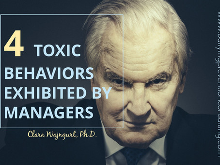More Toxic Behaviors Exhibited By Managers