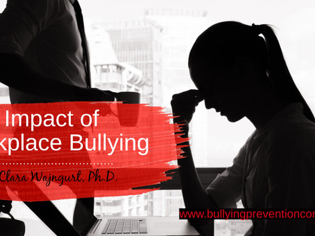 Impact of Workplace Bullying