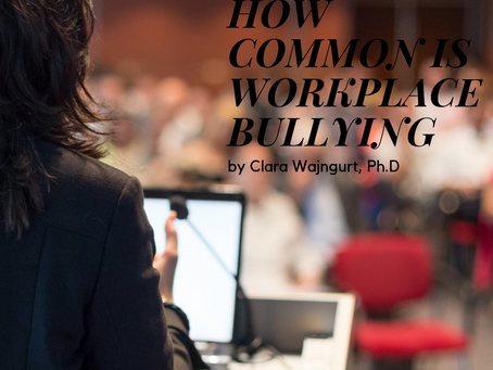 HOW COMMON IS WORKPLACE BULLYING