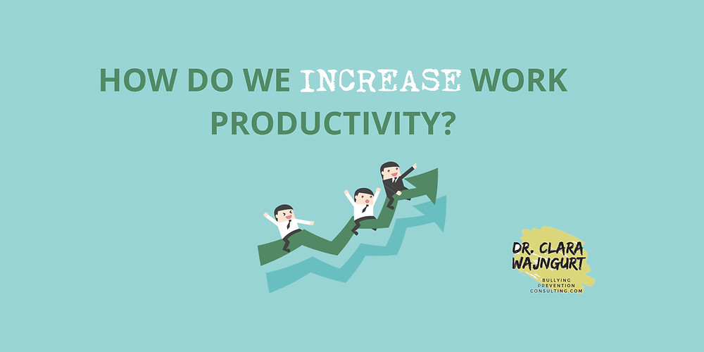 work productivity, increase production, workplace culture