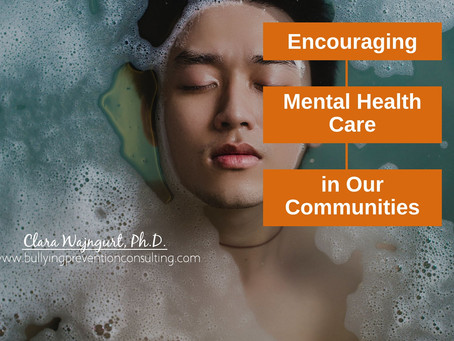 Encouraging Mental Health Care in Our Communities