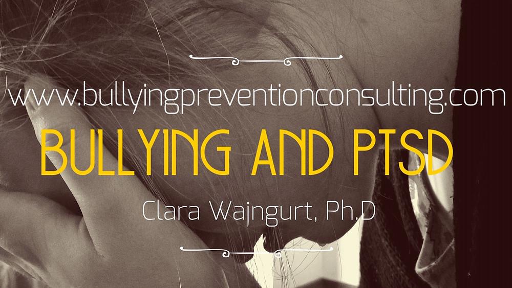 self-esteem, bullying, ptsd