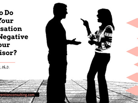 What To Do When Your Conversation Turns Negative With Your Supervisor?