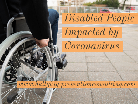 Disabled People Impacted by Coronavirus
