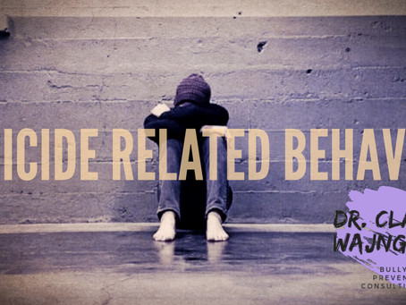 Center for Disease Control Report on the Relationship Between Bullying in Children and Suicide