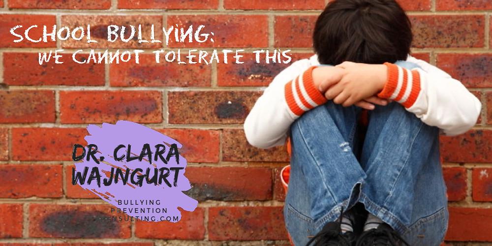 bullying, anti-bullying, clara wajngurt, student bullying