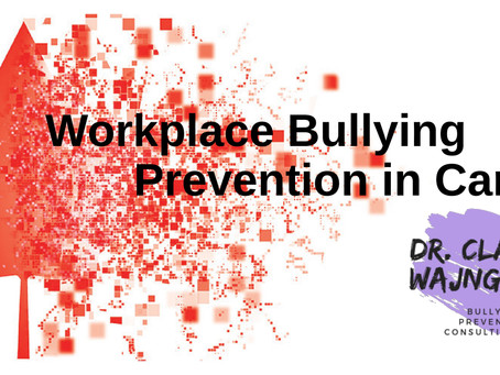 Workplace Bullying Prevention in Canada