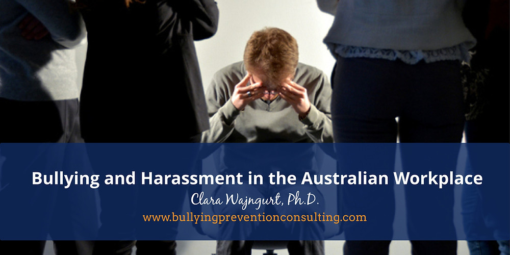 workplace bullying, harassment, psychological damage