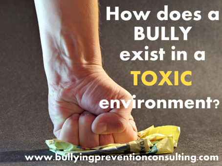 How Does a Bully Exist in a Toxic Workplace?