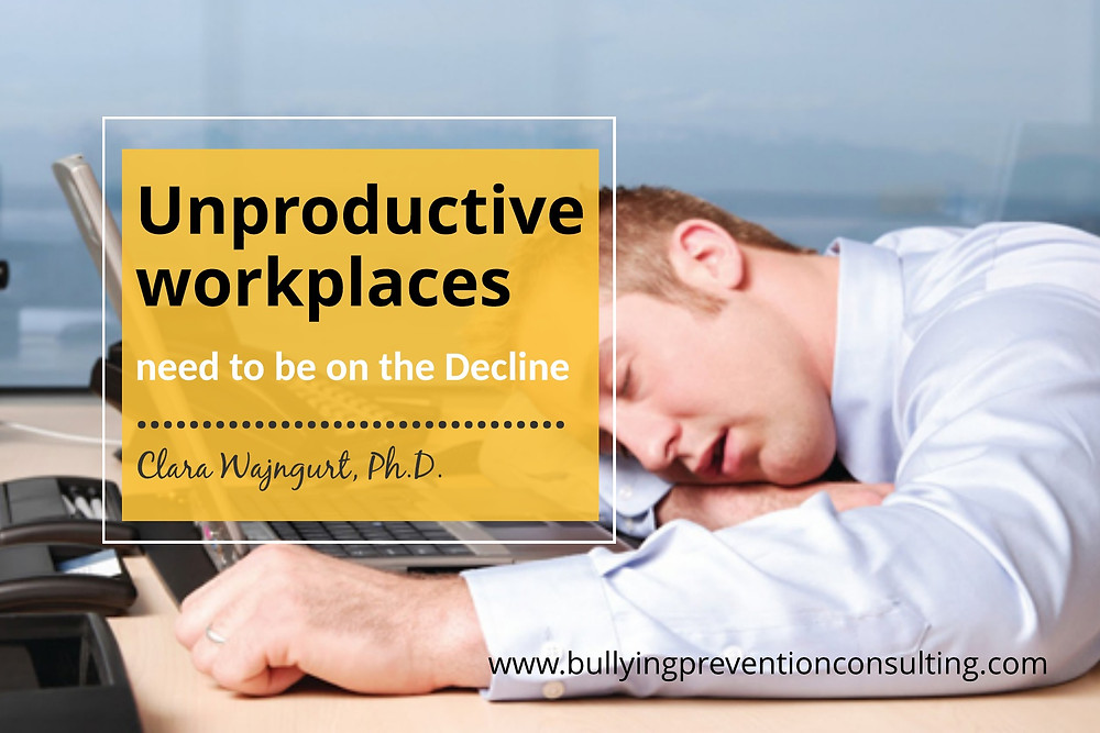 bullying, unproductive, incivility at work, workplace culture